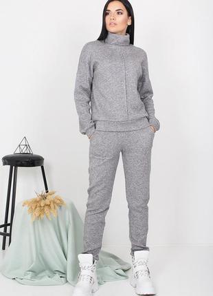 Бесплатная доставка теплый, мягкий спортивный костюм из ангоры 3 цвета, р. 44, 46, 48, 50