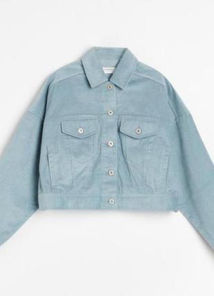 Модная вельветовая куртка reserved р.52
