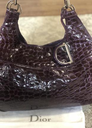 Dior сумка purplecroc 61 оригинал