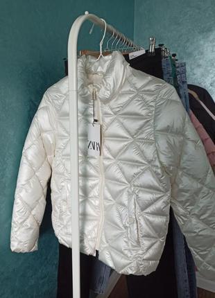 Демисезонная курточка для девочки 9-10 лет, 11 лет