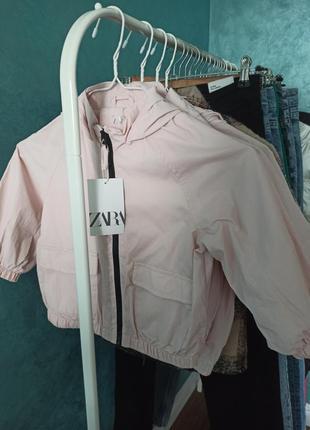 Курточка ветровка для девочки 98 см, 110 см