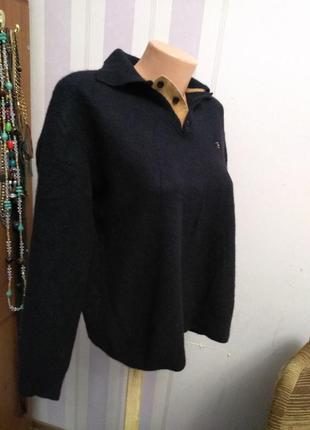 Кашемировый свитер италия  джемпер люкс  большой размер