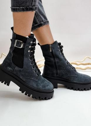 Детские замшевые ботинки, дитячі замшеві черевики