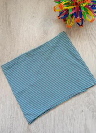 Хомут шарф шарфик. на мальчика или девочку, 5-12 лет