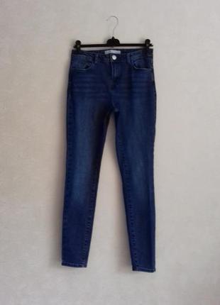 Стрейчевые джинсы скини с плотного джинсы /облегающие джинсы