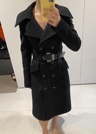 Пальто натуральное шерсть bgn