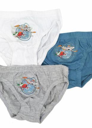 Хлопковые трусы для мальчика 2 - 8 лет дисней самолетики летачки planes труси хлопчик 2 - 8 років
