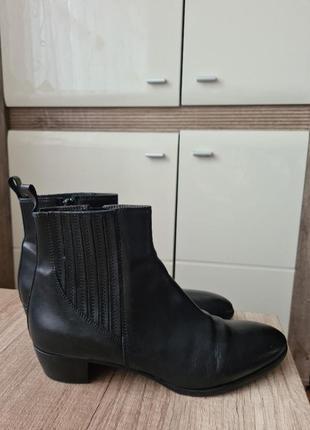 Кожаные ботинки италия!