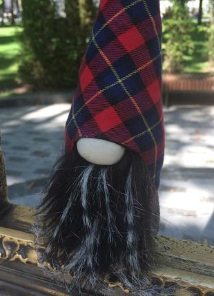 Скандинавский гном домовой, интерьерная игрушка ручной работы
