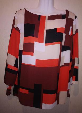 """🌺 🌿 🍃 нарядное стилтгая блуза р.50 """"dorothi  percins"""""""