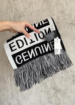 Новый двухсторонний шарф h&m, one size