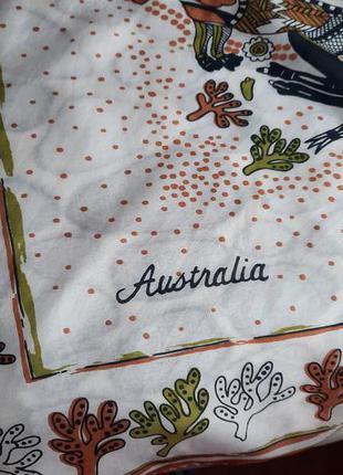Невесомый шёлковый платок australia
