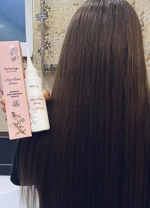 Сыворотка активатор роста волос и от выпадения top beauty