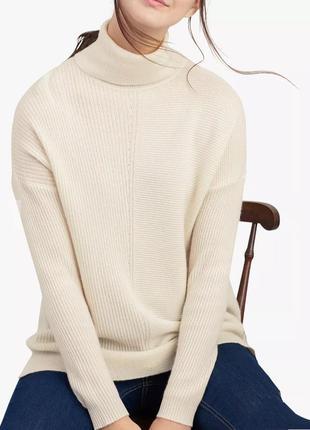 Кашемировый свитер гольф 100% кашемир.