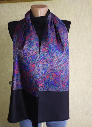 Шёлковый итальянский шарф унисекс
