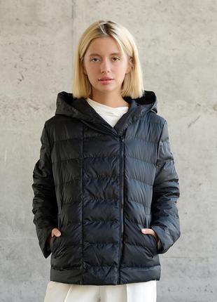 Короткая женская куртка wearme с капюшоном демисезонная на осень