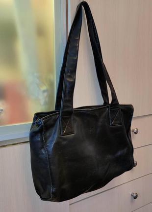 Шикарная сумка dkny натуральная кожа