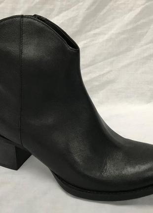 Кожаные ботинки clarks 42