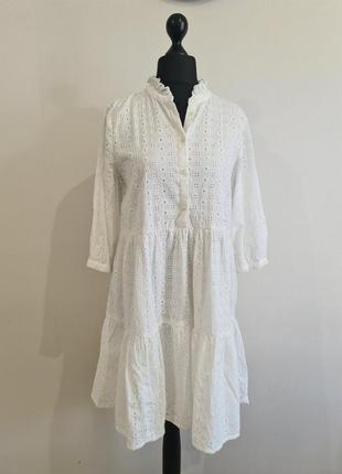 Белое платье прошва кружево only