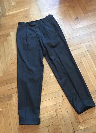 Брюки, штаны классические,шерсть,hugo