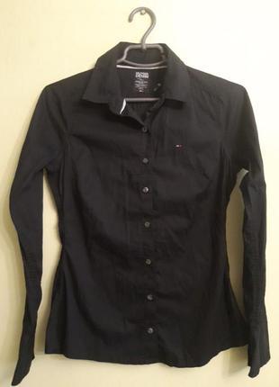 Рубашка приталенная tommy hilfiger