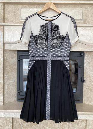 Шелковое платье от karen millen👌