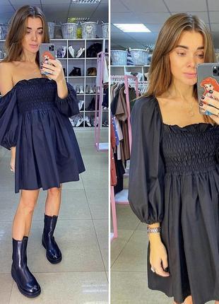 Новое платье воланы резинка юбка солнце хлопок хлопковое