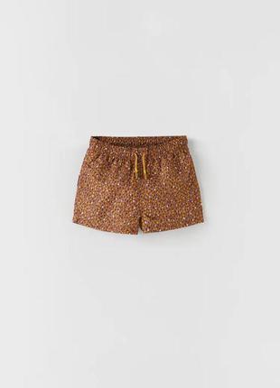 Плавки, шорты для купания zara 6-7 лет, 120 см для мальчика