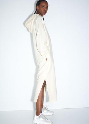 Новое платье худи h&m на флисе. размер xl