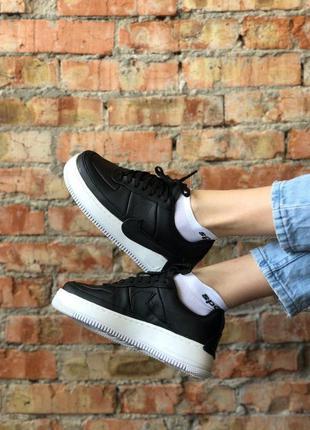 Женские черные кроссовки nike jester с белой подошвой 37 размер