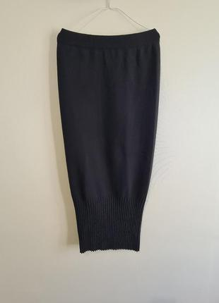 Теплая шерстяная длинная юбка annette gortz