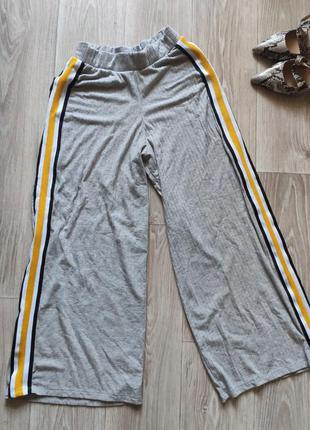 Кюлоты штаны укороченные брюки