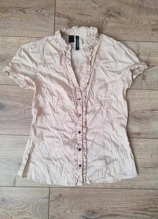 Приталенная блузка, блуза, нарядная кофточка