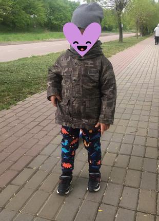 Куртка 3-4 р
