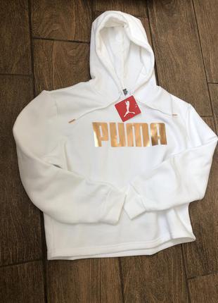 Новая оригинал кофта puma пума свитшот джемпер с капюшоном пуловер худи