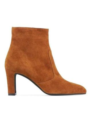 Кожаные замшевые деми ботинки бренда minelli