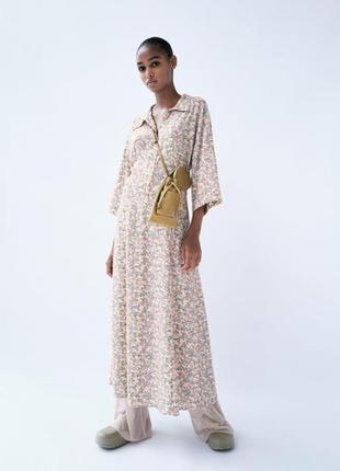 Шикарнейшее рубашка платье zara