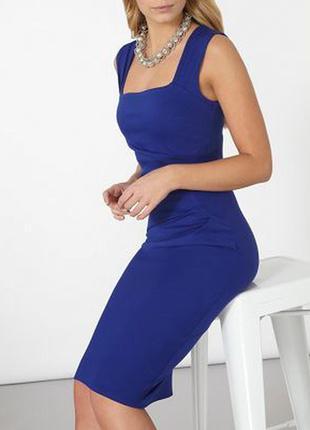 Новое!элегантное платье-футляр с драпировкой миди длины как zara h&m asos