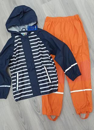 Дождевик грязепруф куртка и штаны lupilu 122/128 см