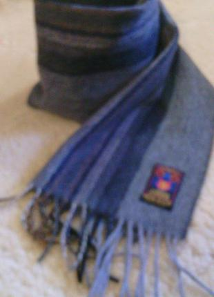 100% кашемир новый шарф  германия  178 см