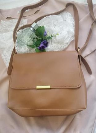 1 шт в наличии! сумка коричневая