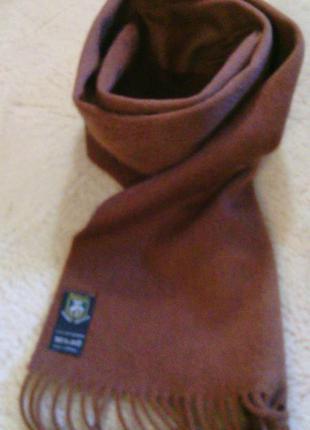 100% кашемир !  новый шарф- германия
