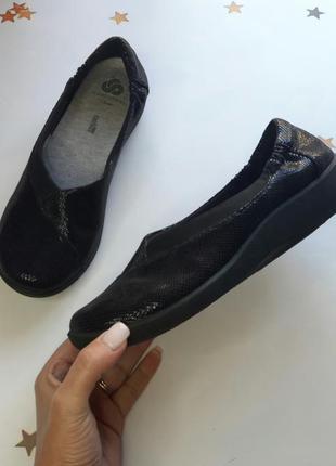 Мега удобные туфли clarks