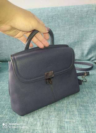 Жіноча сумочка-рюкзачок трансформер