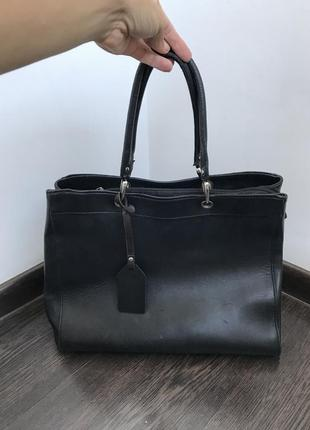 Кожаная сумка vera pelle италия