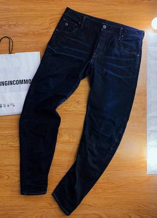 Темно-синие джинсы/арки / arc 3d