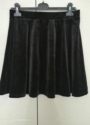 Спідниця юбка чорного кольору розмір виробника м 💃