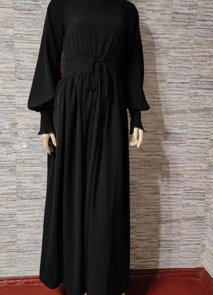 Роскошное платье в пол от boohoo