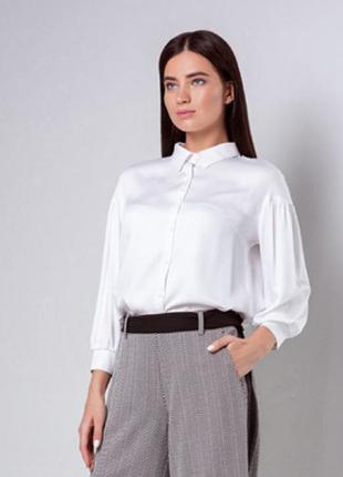 Оригинальная белая рубашка, блуза b.raise