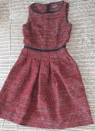 Брендовое теплое  шерстяное платье , сарафан от mark'o polo